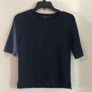 Ann Taylor Navy Shirt